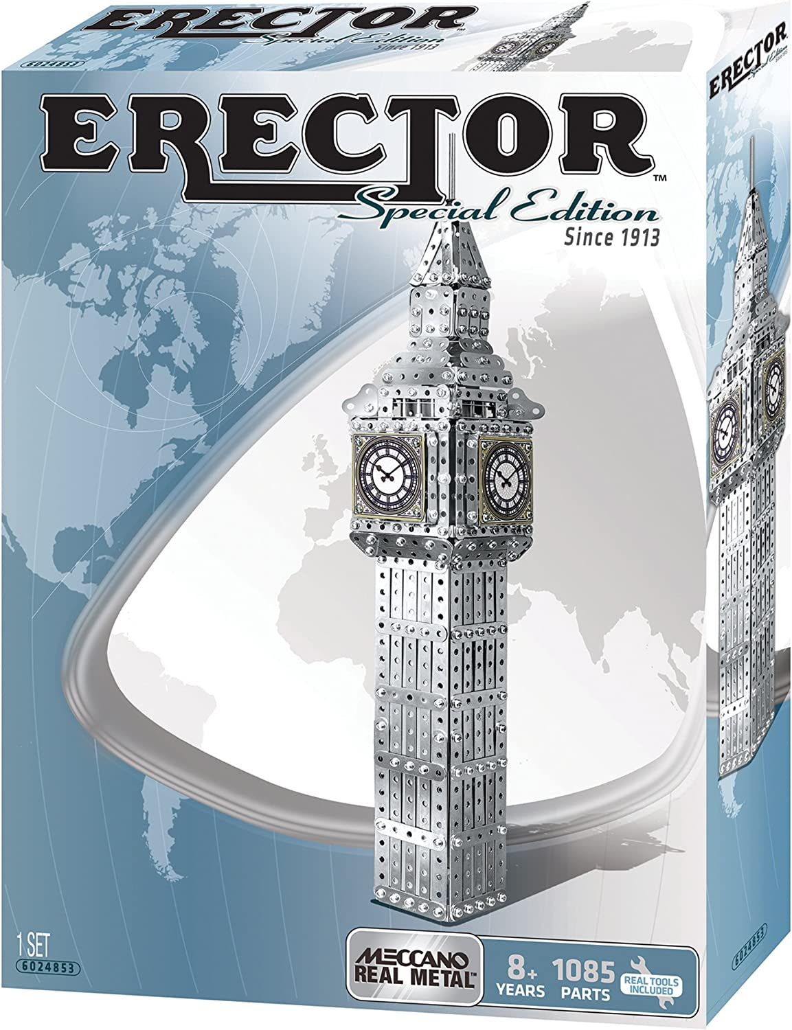 Erector Special Addition The Big Ben Clock of London
