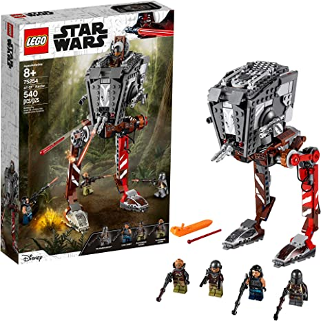 Amazon Com Lego Star Wars At St Raider 75254 The Mandalorian Collectible All Terrain Scout Transport Walker Posable Building Model 540 Pieces Toys Games