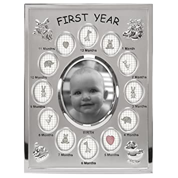 Amazon.com: Malden International Designs Baby\'s First Year Collage ...