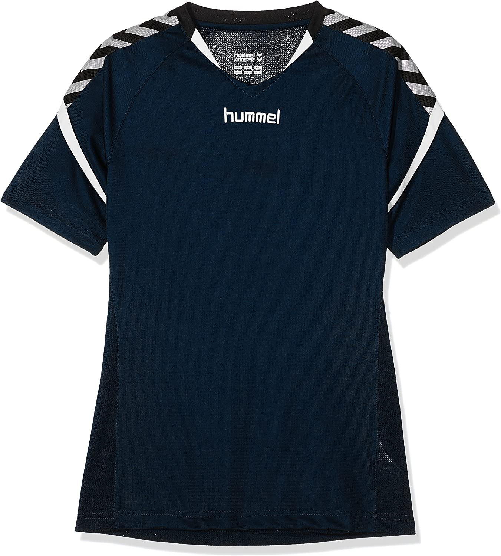 Charge Short Sleeve Poly Jersey Trikot,blau ,164-176 Total Eclipse hummel Kinder Auth