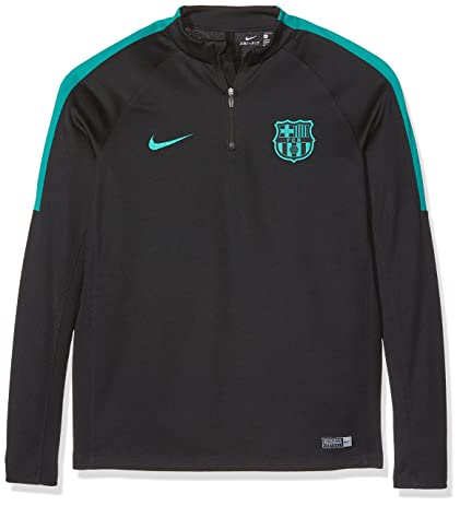 Nike Youth FC Barcelona Drill Top-BLACK (M)