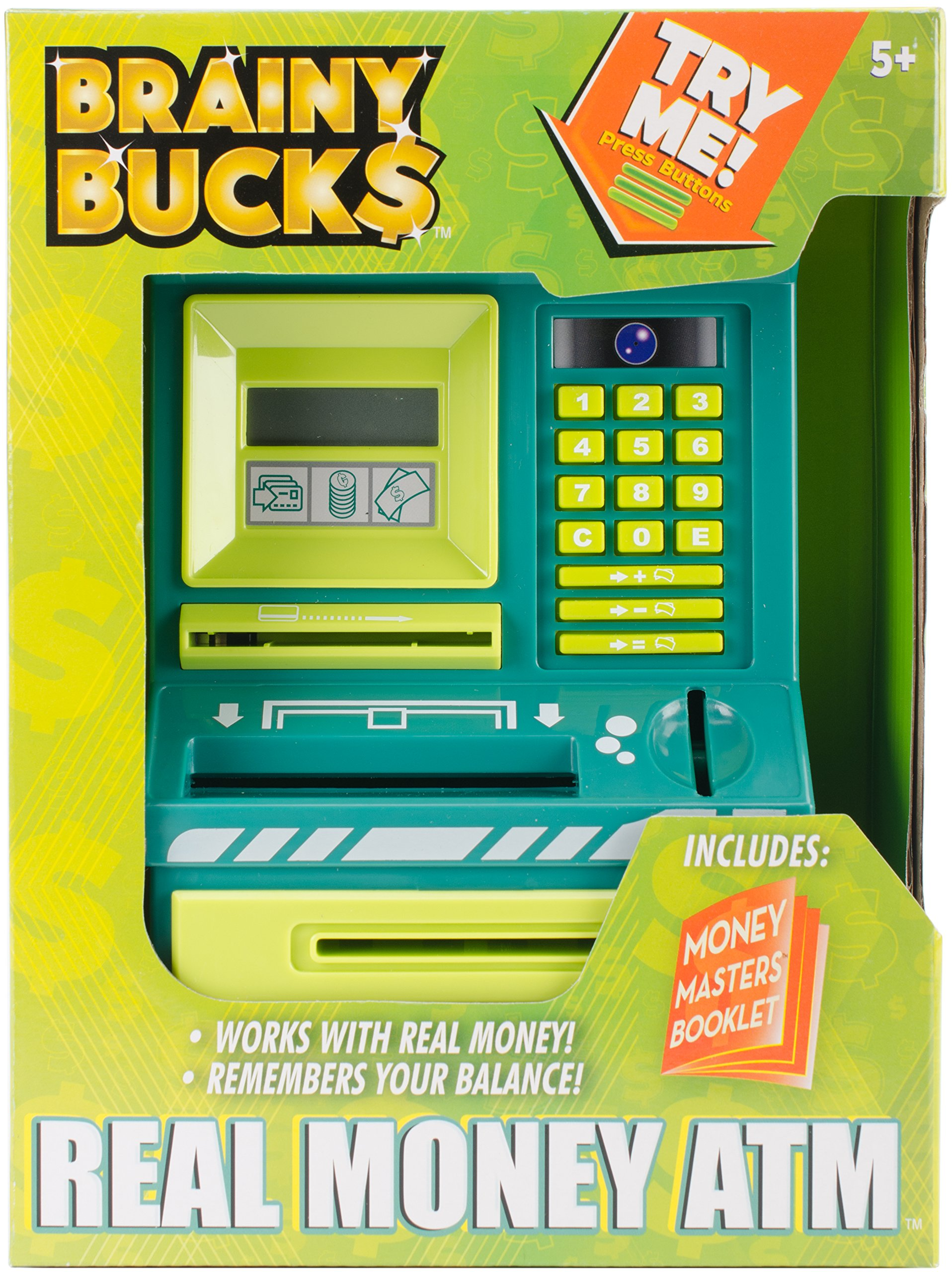 Brainy Bucks Real Money ATM Toy by Brainy Bucks