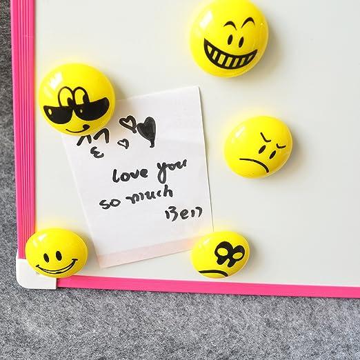 5pcs rojo amarillo color Push Pin Imanes/chinchetas - perfecto ...