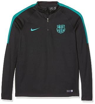 Nike FC Barcelona Y Dril Top Squad Camiseta de Fútbol de Entrenamiento de Manga Larga con