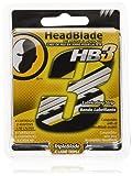 HeadBlade HB3 Triple Blade Refill Razor Cartridges