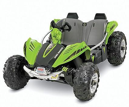 Amazon Com Power Wheels Dune Racer Green Toys Games