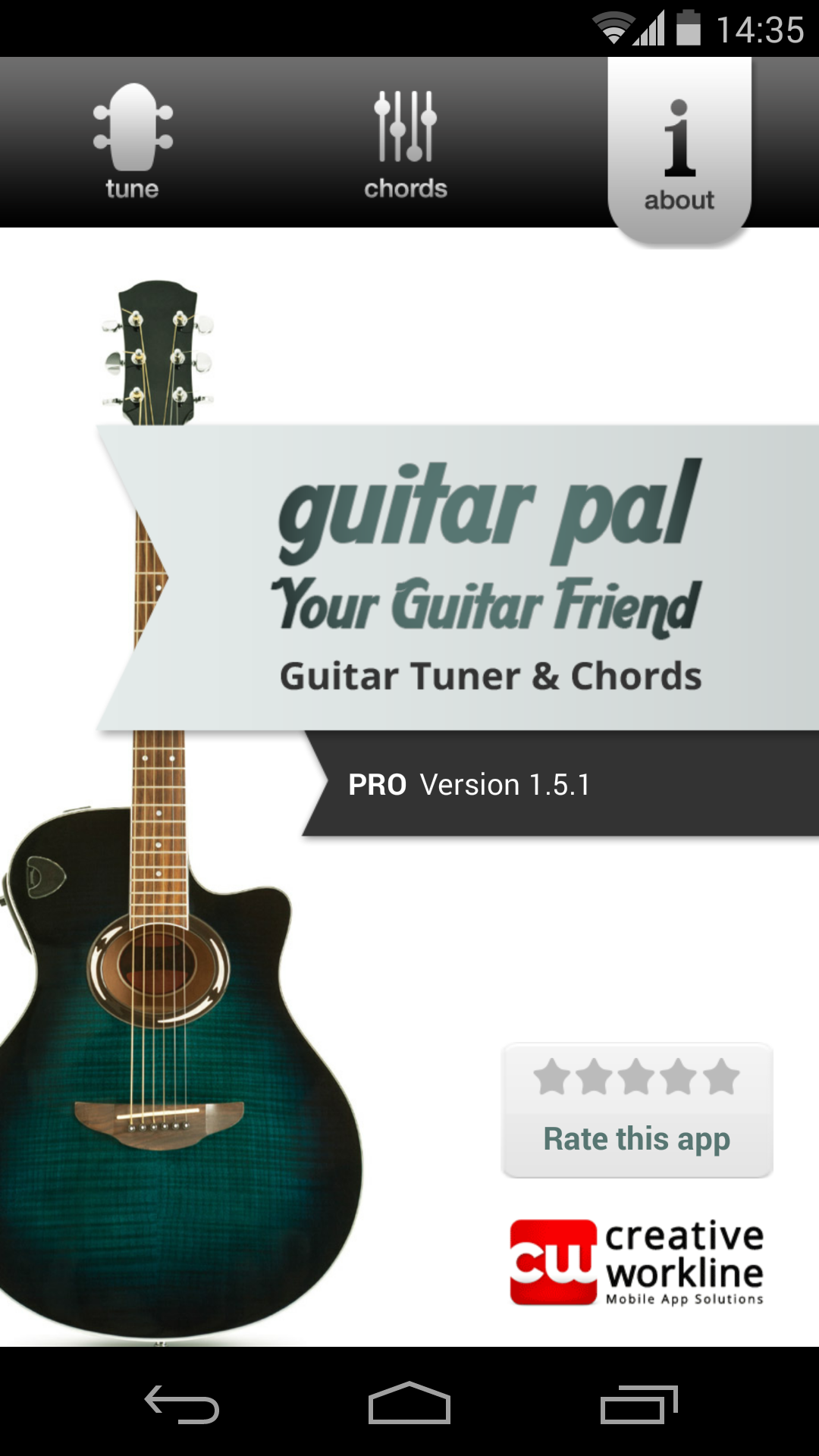 Amazon Guitar Pal Guitar Tuner Chords Appstore For Android