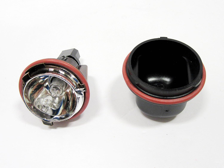 4x Fits For BMW E53 X5 00-06 E65 02-08 Angel Eyes Blue LED Halo Ring Light Bulbs