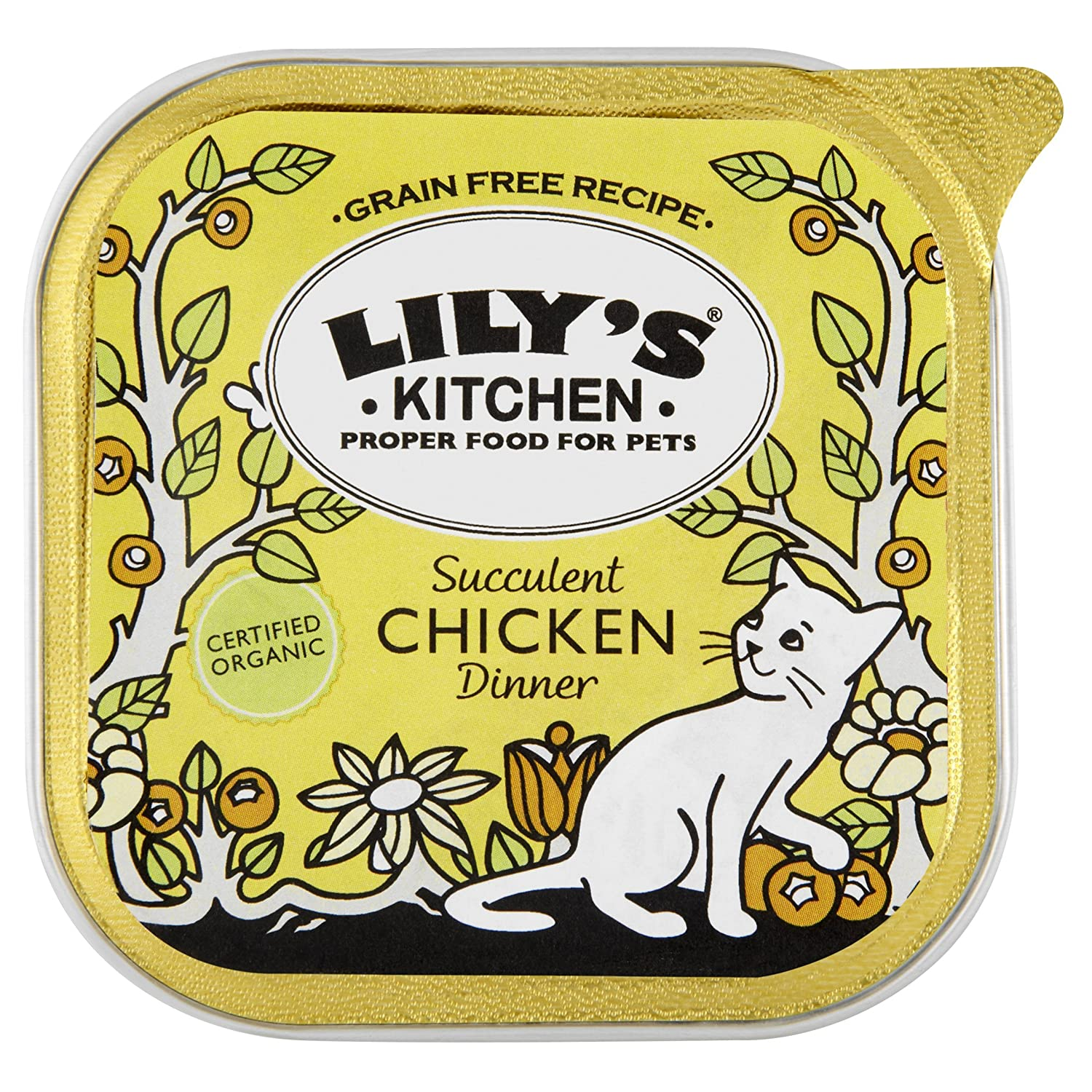 Amazon.com : Lily\'s Kitchen Organic Chicken Dinner 100 g (Pack of ...
