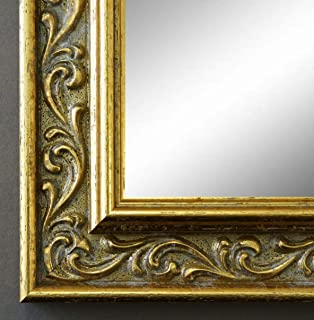 Verona Silber 4,4 Online Galerie Bingold Spiegel Wandspiegel Badspiegel Shabby 84,1 x 118,9 cm handgefertigt 200 Gr/ö/ßen zur Auswahl Antik AM DIN A0 Barock