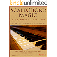 ScaleChord Magic: Music Theory Demystified - How to Master Interval Relationships (Theory in a Thimble Series Book 1) book cover