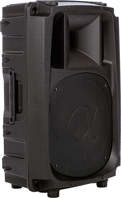 LCD Screen Voyz 15-inch 800 Watt Powered Two-way Active Speaker Box with Mp3//usb//sd//rca Input Bluetooth Connection Remote Control
