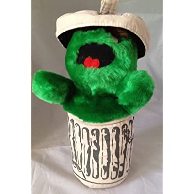 "11"" Oscar the Grouch Plush: Toys & Games"