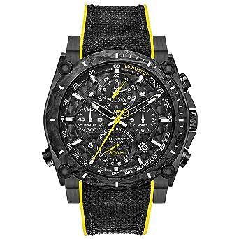03351b290 Amazon.com: Bulova Men's Stainless Steel Quartz Sport Watch with ...