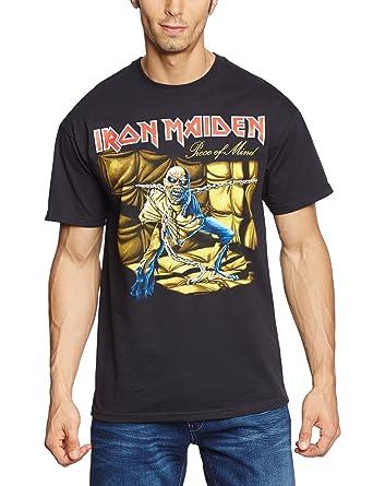 Cheap And Nice Deals Iron Maiden Mens IMTEE03MB Trooper Short Sleeve T-Shirt Loud Distribution Cheap Wide Range Of Original Cheap Online Free Shipping Factory Outlet ZsKj3C