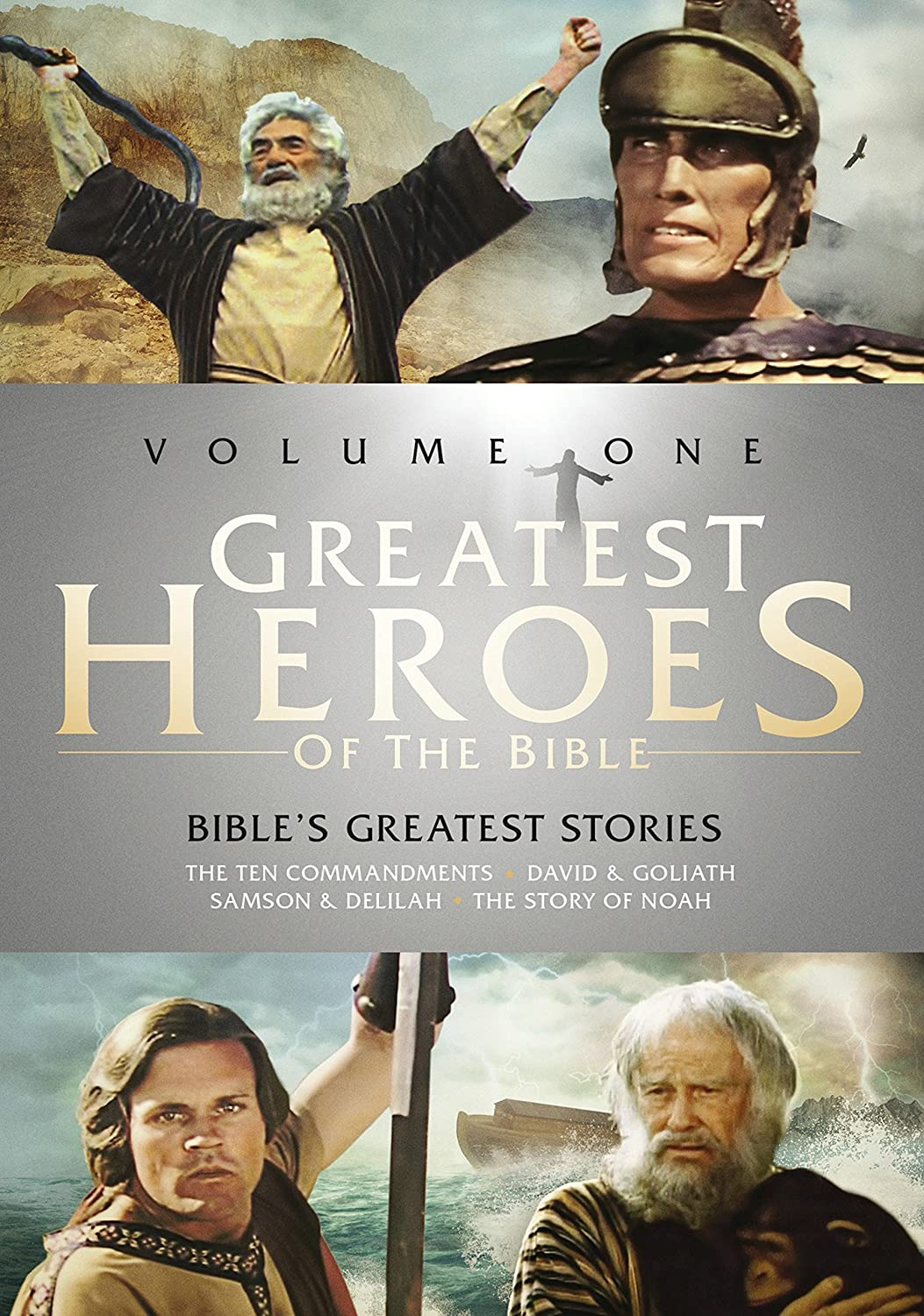 amazon com greatest heroes of the bible volume one the bible u0027s