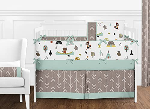 Outdoor Adventure Collection Nature Fox Bear Animals Boys Window Valance