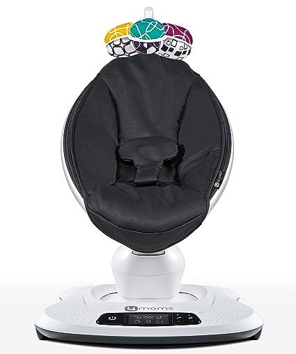 Mecedora 4moms MamaRoo, color negro clásico: Amazon.es: Bebé