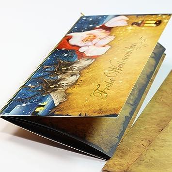 Einlegeblätter Für Weihnachtskarten.Tatmotive 04 0119 0235 00011 Weihnachtskarten Mit