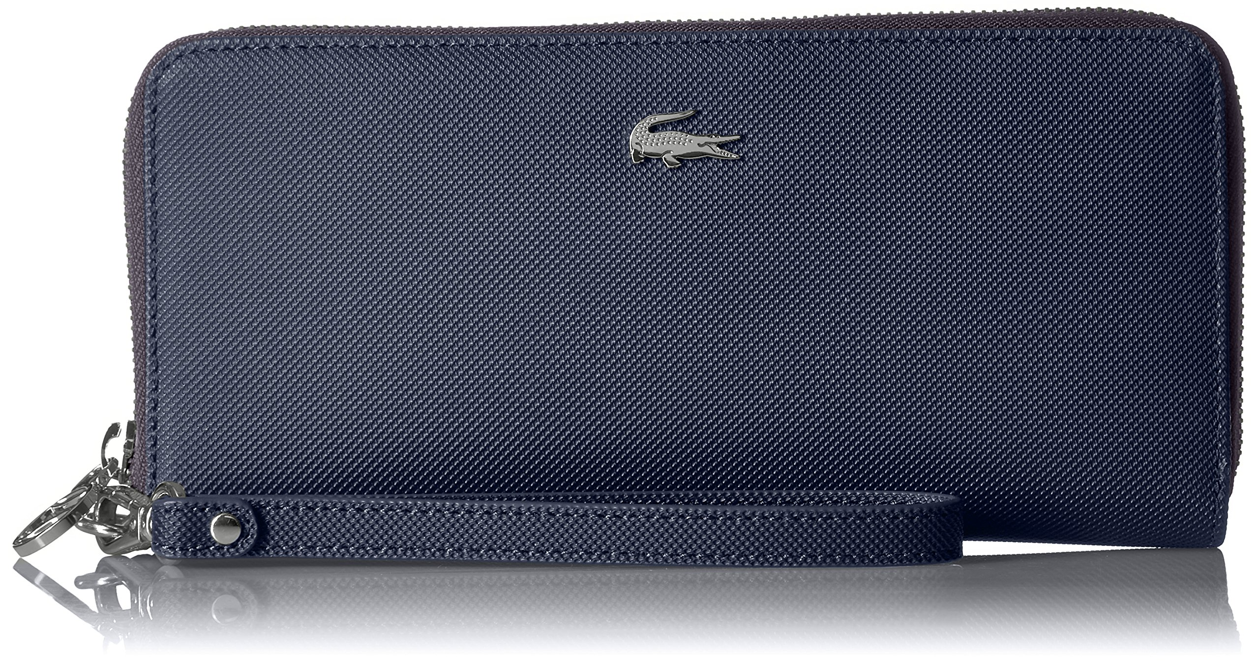XLARGE WRISLET ZIP WALLET, NF2498DC Wallet, PEACOAT, One Size by Lacoste (Image #1)