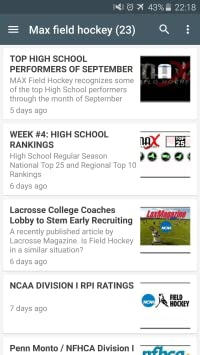 ae75753420f3 Amazon.com  Field hockey news  Appstore for Android