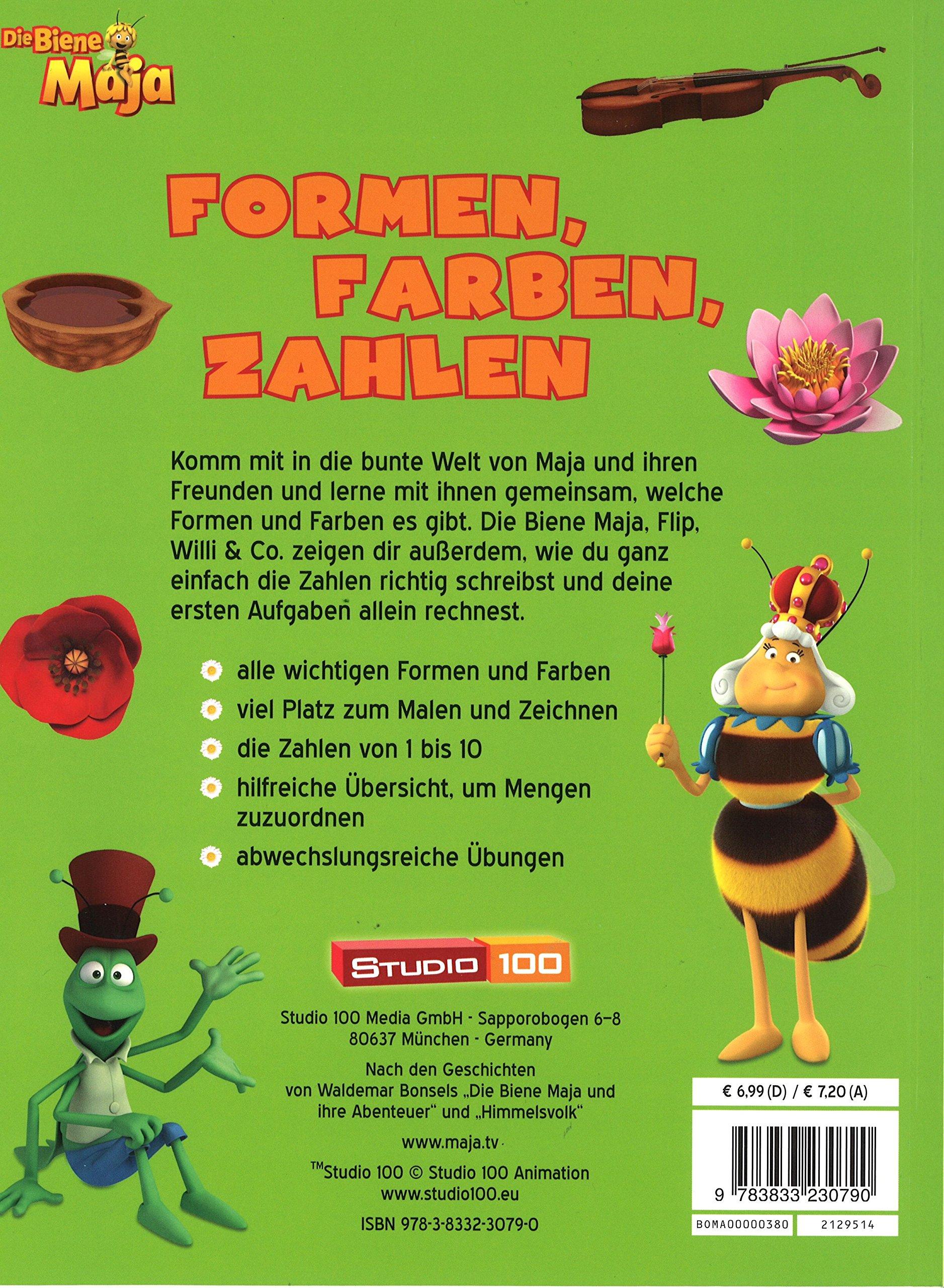 Die Biene Maja - Formen, Farben, Zahlen: 9783833230790: Amazon.com ...