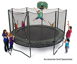 AlleyOop DoubleBounce System with integrated Safety Enclosure