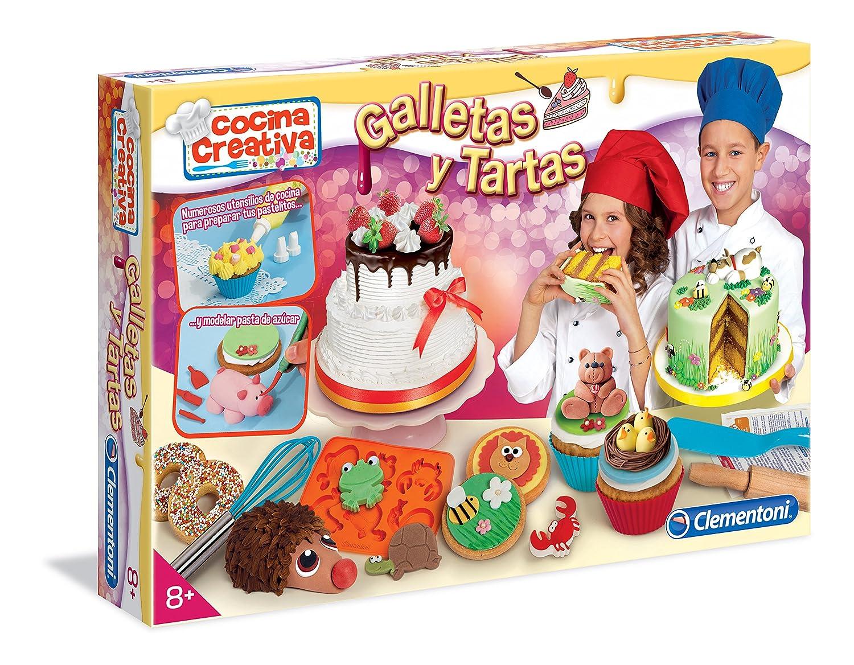 Clementoni Cocina Creativa - Galletas y tartas (65566): Amazon.es ...
