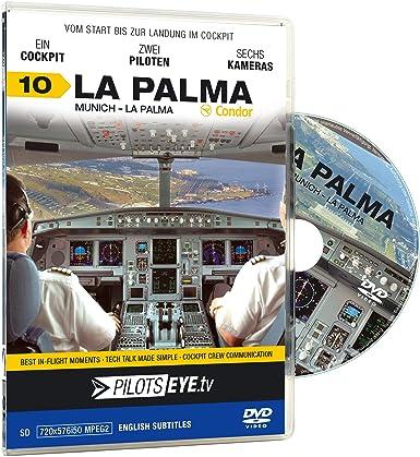 PilotsEYE tv   Munich - LA PALMA  :  DVD  :  Cockpit flight Condor