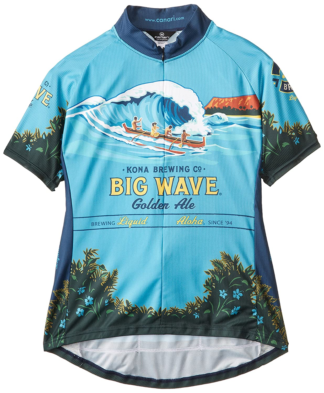 Canari Damen Kona Brauen Big Wave Jersey