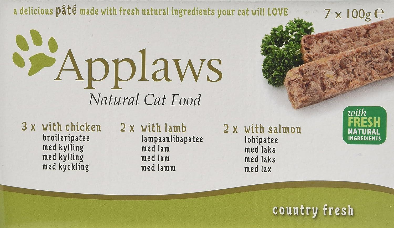 Applaws - Paquete de alimentos para gatos, 7 x 100 g: Amazon.es: Productos para mascotas