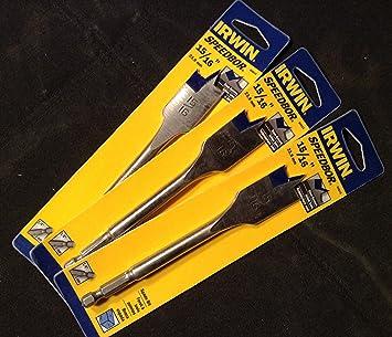 Irwin Tools 3041018  15//16 X 6 Speedbor Max Drill Bit