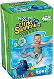Huggies U1833930 - Pañal de natación, talla 3-4 (7-15 kg), pack de 2 x 12