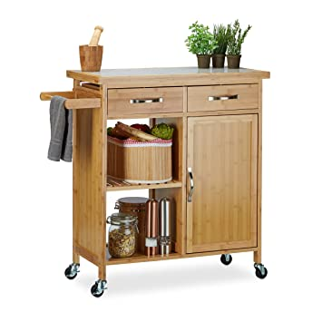 Küchenwagen holz Ideal für das Aussehen Ihrer Küche