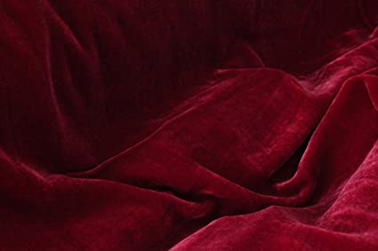 100% silk velvet by the yard silk velvet fabric suppliers