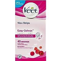 Easy-Gelwax Wax Strips – Normal Skin (40 pack)