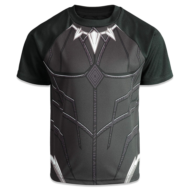 Marvel Avengers Boys 4 Pack T-Shirts Black Panther Hulk Spiderman Captain America