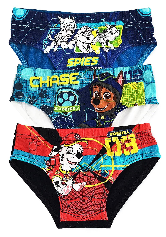 45b1d583ecdc Paw Patrol calzoncillos ropa interior muchachos niños algodón - paquete de 3