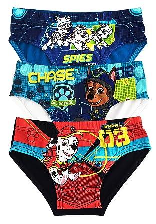 8a2e6173b8 PAW Patrol Briefs Pants Underwear Boys Cotton - Pack of 3  Amazon.co.uk   Clothing