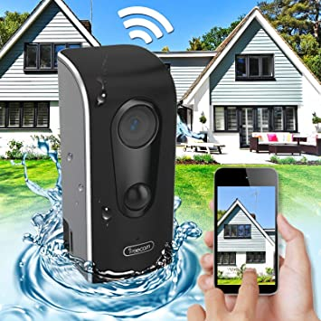 Agua Densidad WiFi WLAN W Lan IP Cámara de vigilancia con batería 90 días unidad Tiempo