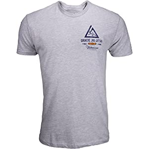 Gracie Jiu-Jitsu Mystic Shirt - Heather Grey - X-Large