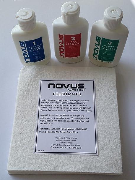 Novus acrylic scratch remover polish kit with 6 novus mates wipes novus acrylic scratch remover polish kit with 6 novus mates wipes solutioingenieria Choice Image