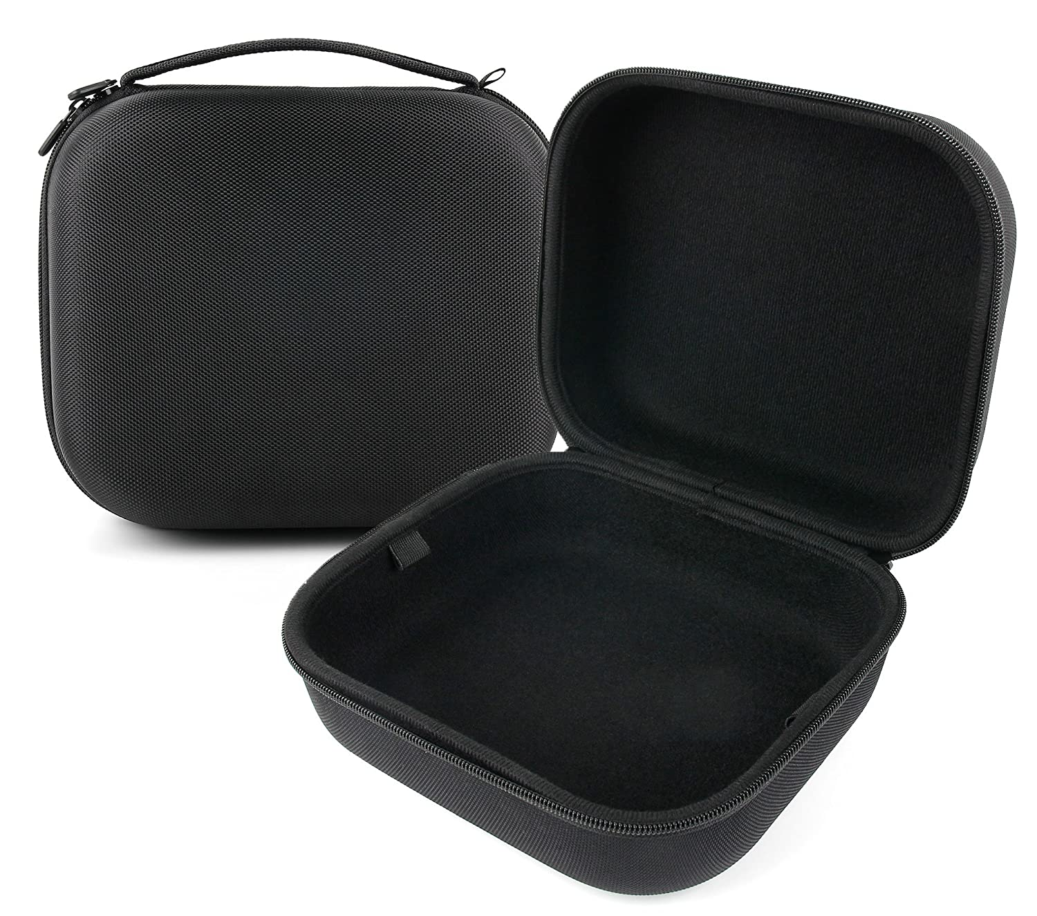 大きなマットブラックTough EVAストレージCarry Case for the Silverline Earmuffs for Children 315357 – by DURAGADGET   B01MUCFCJ2