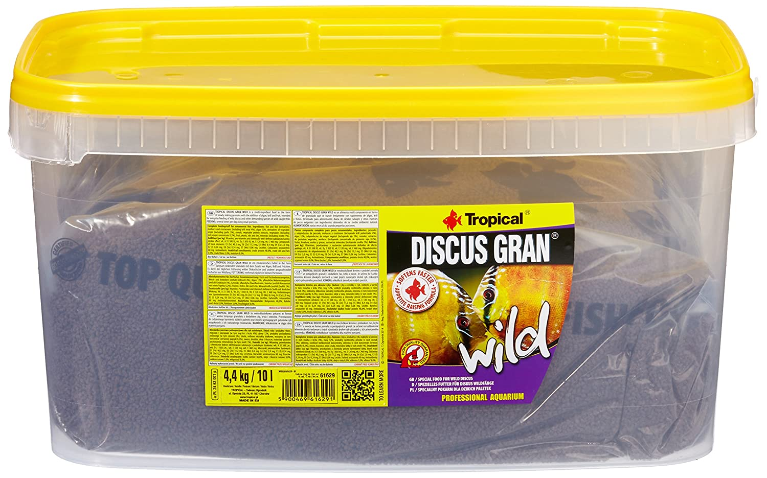 Tropical Discus Wild, 1er Pack (1 X 10 L)