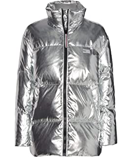 3583fe0a020 Tommy Hilfiger Women's Icons Down Puffer Jacket XS Gold: Amazon.co ...