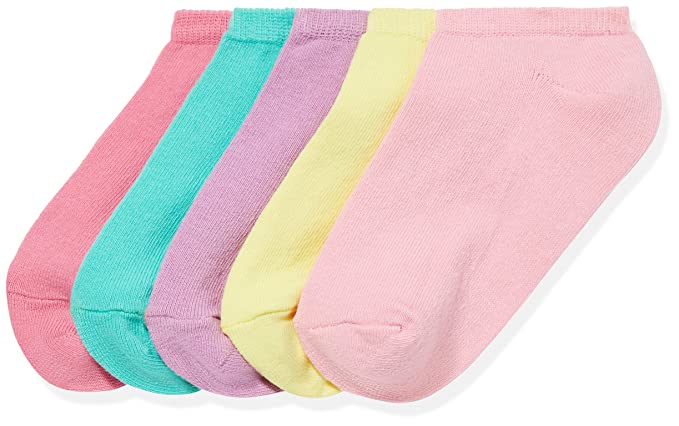 Kids Trainer Socks Boys Girls Invisible Ankle Cotton Footwear Unisex Multipack