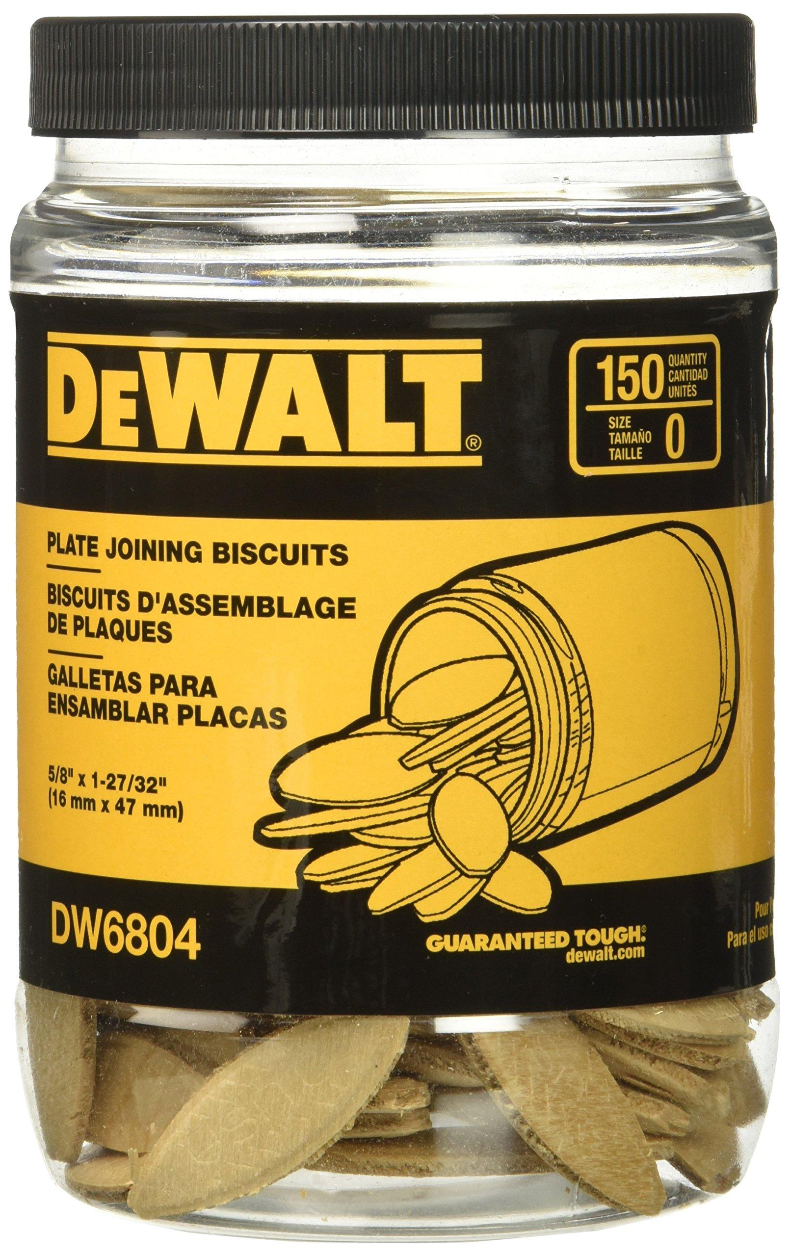 DeWalt DW6804 Size 0 Joiner Biscuits by DEWALT