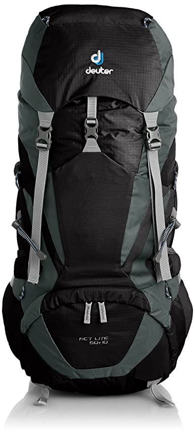 110f4a965d Amazon.com   Deuter ACT Lite 50+10 Hiking Backpack   Sports   Outdoors