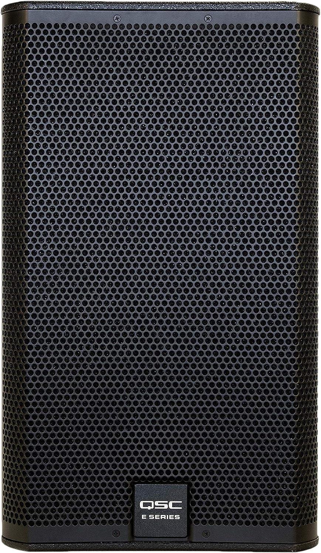 """QSC E112BK 12"""" 400 Watt 2-Way Full Range Passive Loudspeaker"""