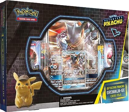 Detective Pikachu Greninja Gx Case File Pokemon Tcg 2 Greninja Foil Trading Cards 7 Booster Pack